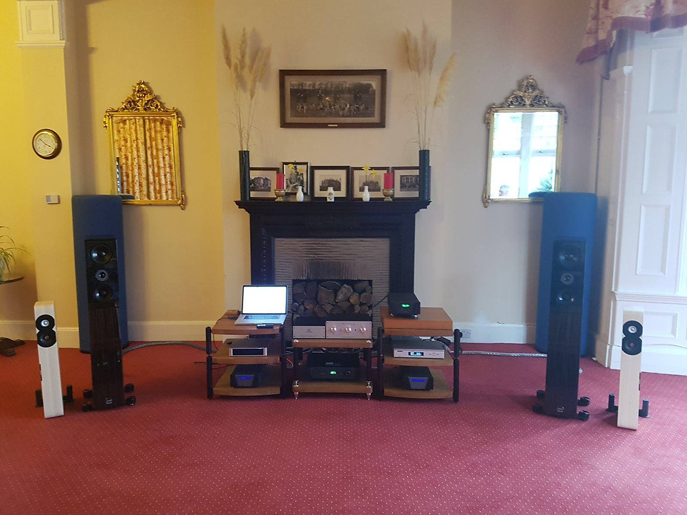 Elite Audio set-up at The Scalford HiFi Show 2017