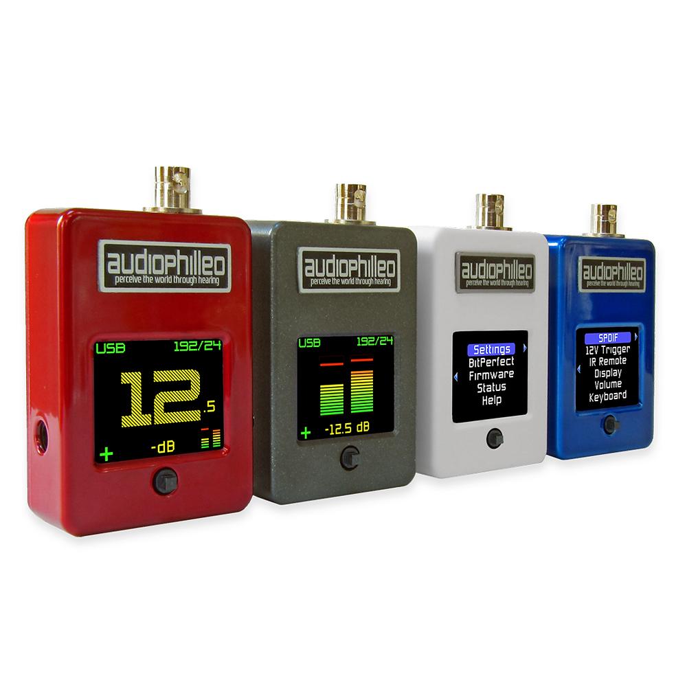 Four Audiophilleo MKIIs