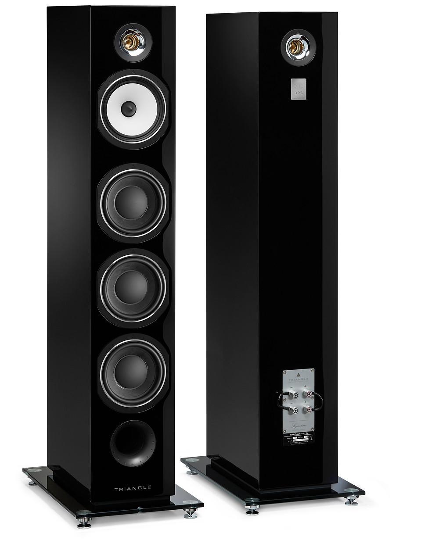 Triangle Esprit Australe EZ Loudspeakers in High Gloss Black