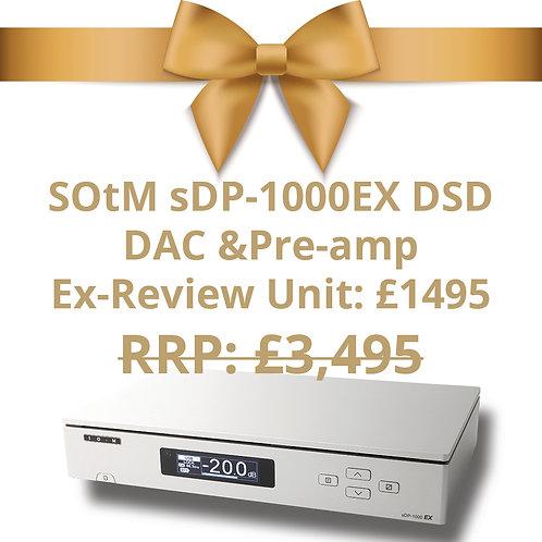 SOtM sDP-1000EX DSD DAC & Pre-amp