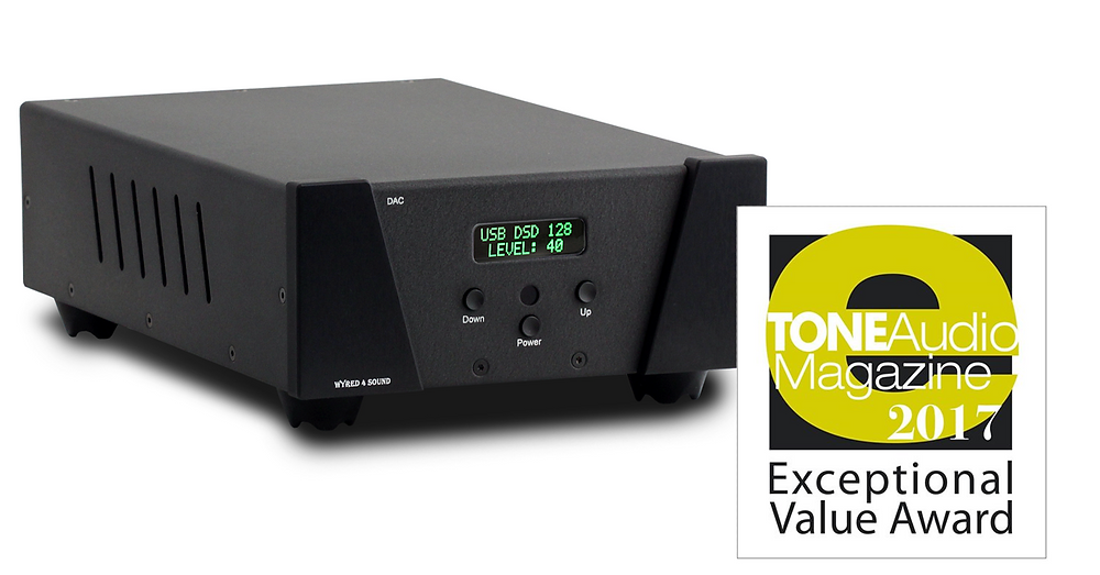 Wyred 4 Sound DAC 2v2 SE with Tone Audio Award
