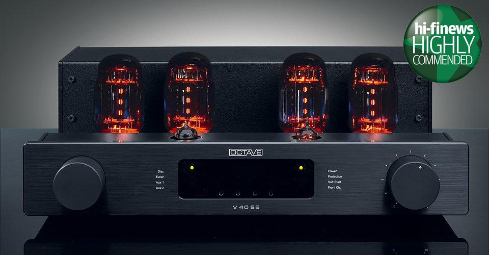 Octave V40SE Integrated Amplifier. Highly Commended