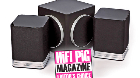 Electrocompaniet's Speaker/Streamer/Subwoofer combo wins Editor's Choice from HiFi Pig