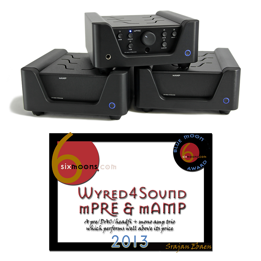 Wyred 4 Sound mPRE & 2 mAMPs with Blue Moon Award