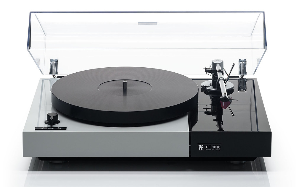 WE Audio Systems PE 1010 Turntable