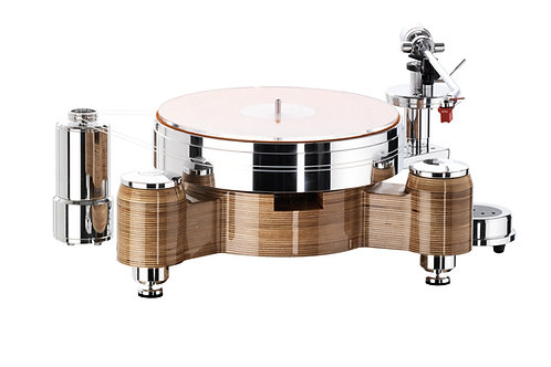 Acoustic Solid Wood Round MPX - arm and cartridge bundle.