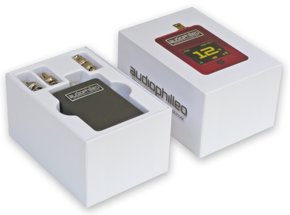 Audiophilleo2 MKII in box