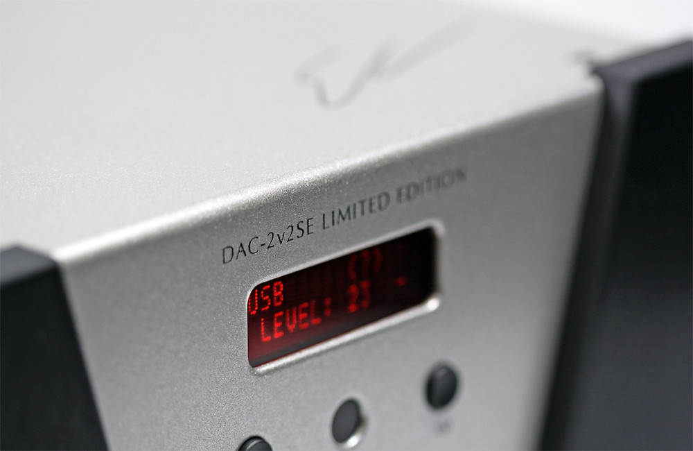 Wyred 4 Sound DAC 2-v2SE Limited Edition DAC Front