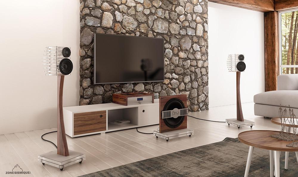 Eden Acoustics Tomei Open Air Loudspeaker System