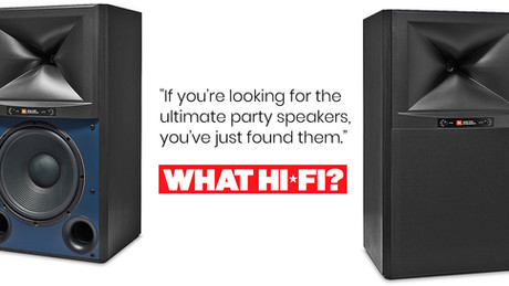 JBL 4349 dubbed 'ultimate party speakers'