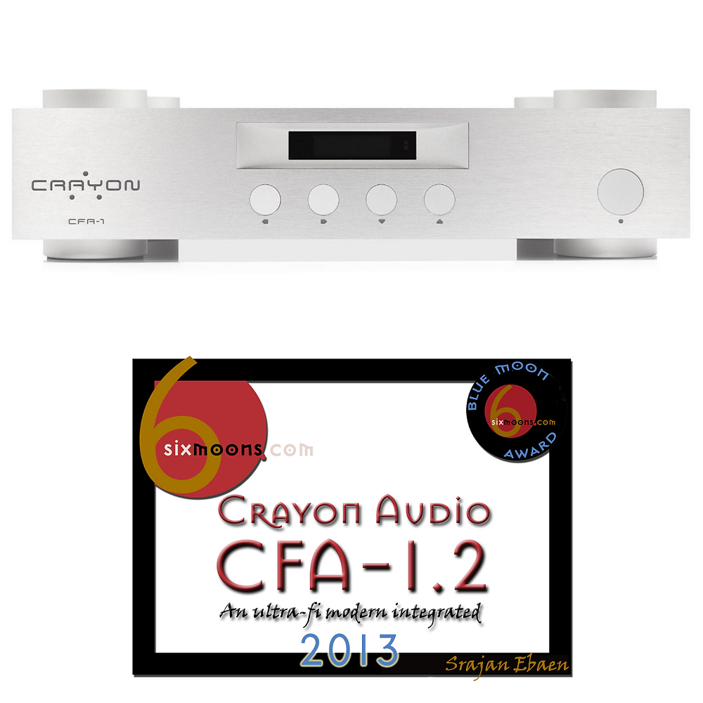 Crayon Audio CFA-1.2 Stereo Amplifier with Blue Moon Award
