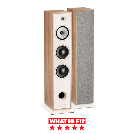 Triangle floorstanders get 5 stars from What Hi-Fi?
