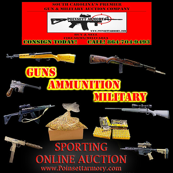 Sporting Firearm, Ammunition and Military Online Auction