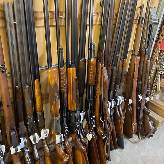 Collectible Shotguns, Rifles, Pistols & Ammunition Online Auction