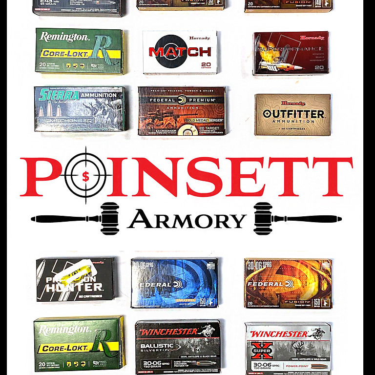 Specialty Hunting Ammunition & Collectible Cartridges Auction - Pre Bidding is Available and Ends June 13th @ 9PM EST