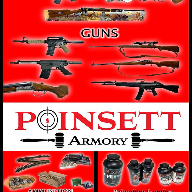 Guns, Ammunition, & Accessories Online Auction - Pre Bidding is available - Ends June 12th @ 9PM EST