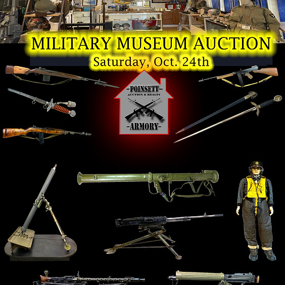 American Legion Post 214 Cecil D. Buchanan Museum of Military History Live & Online Auction