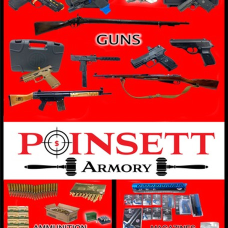 GUNS! AMMO! MAGAZINES! Absolute Online Auction