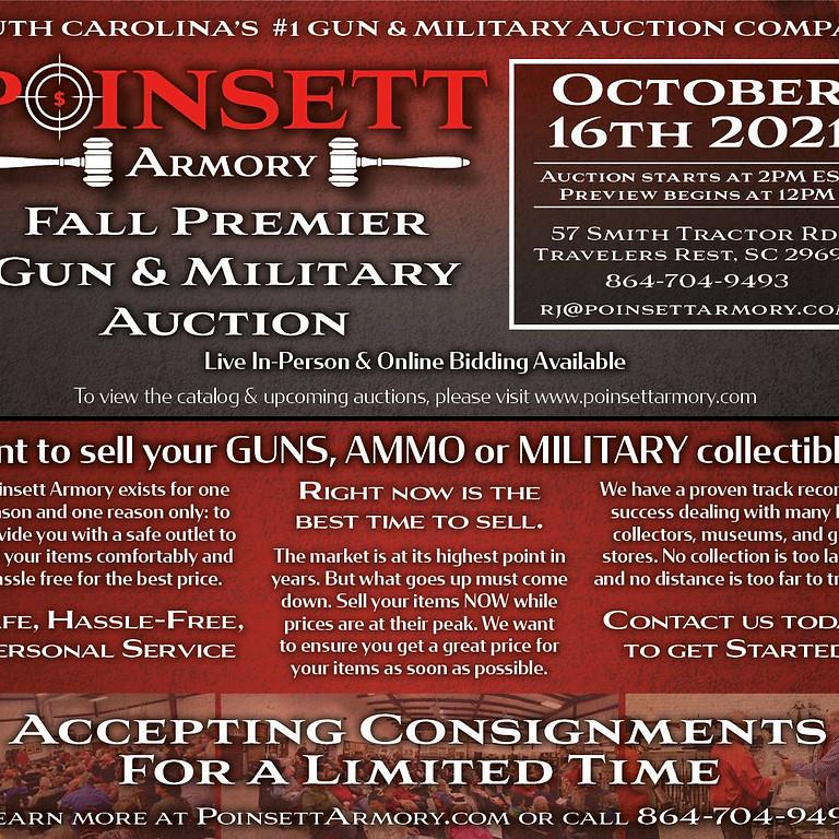 Fall Premier Collector's Gun & Military Auction