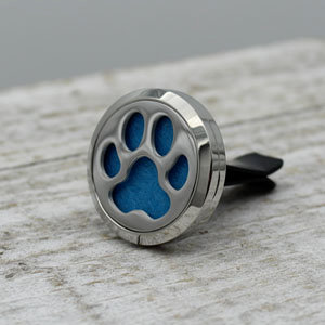 Single Paw Print Vent Clip