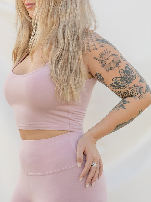 Blush Doubled Tank Top