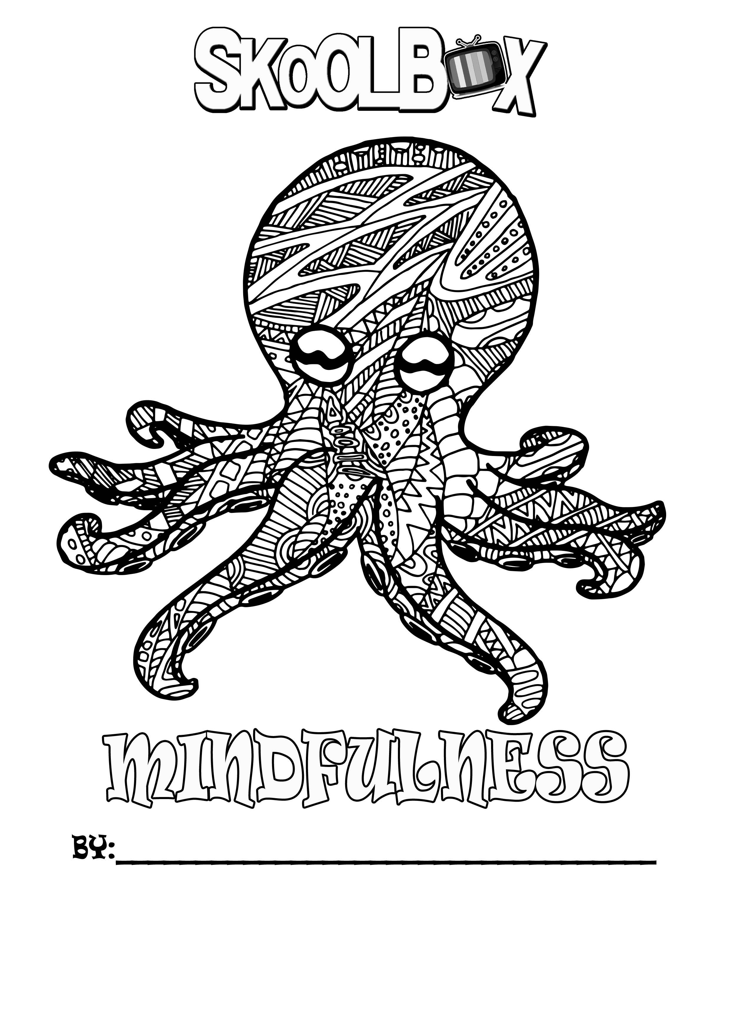 SkoolBox Mindfulness Colouring 9