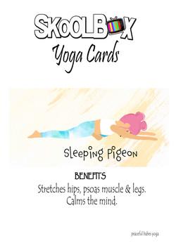Yoga Card 52-sleeping pigeon FINAL
