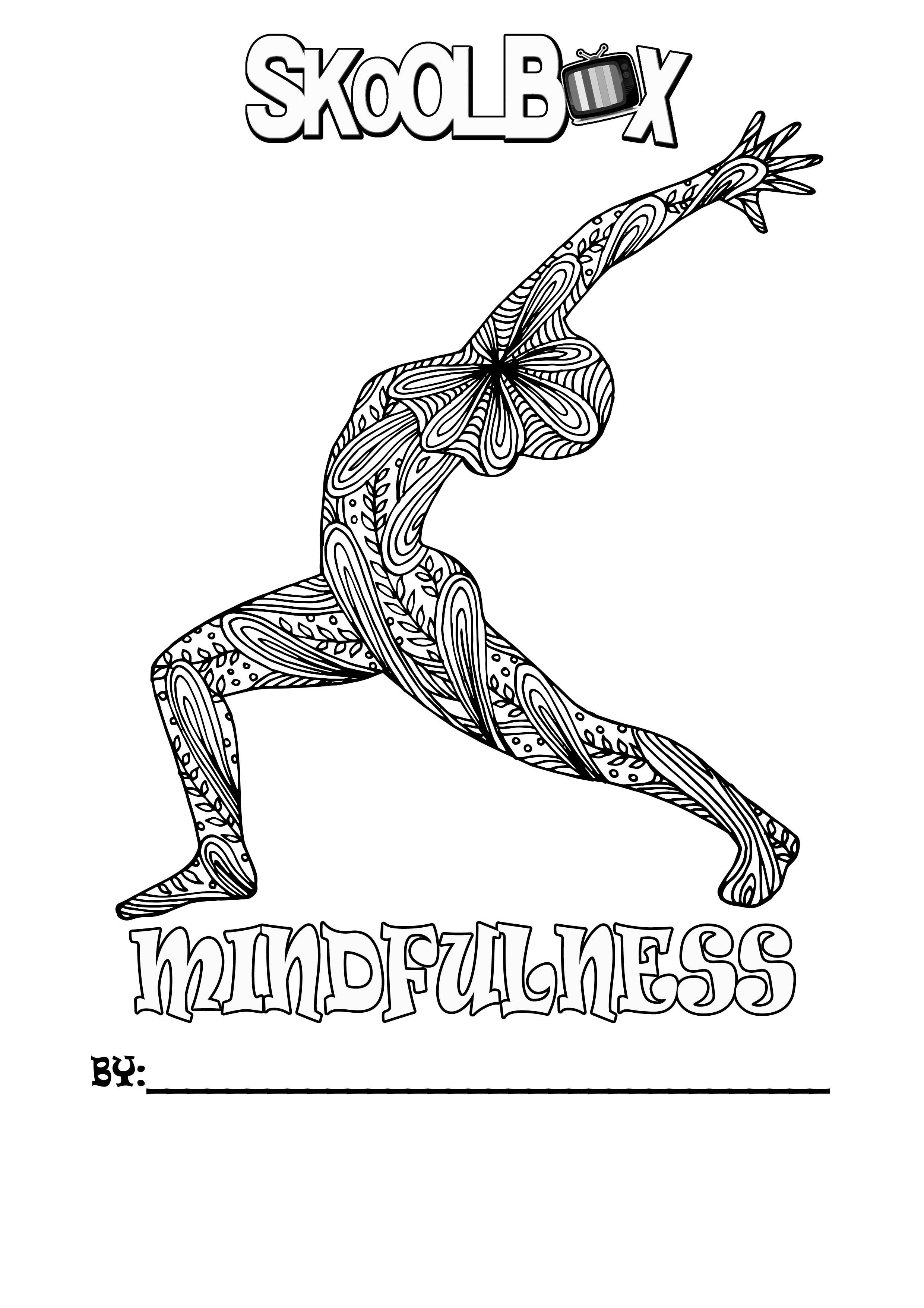 SkoolBox Mindfulness Colouring 10