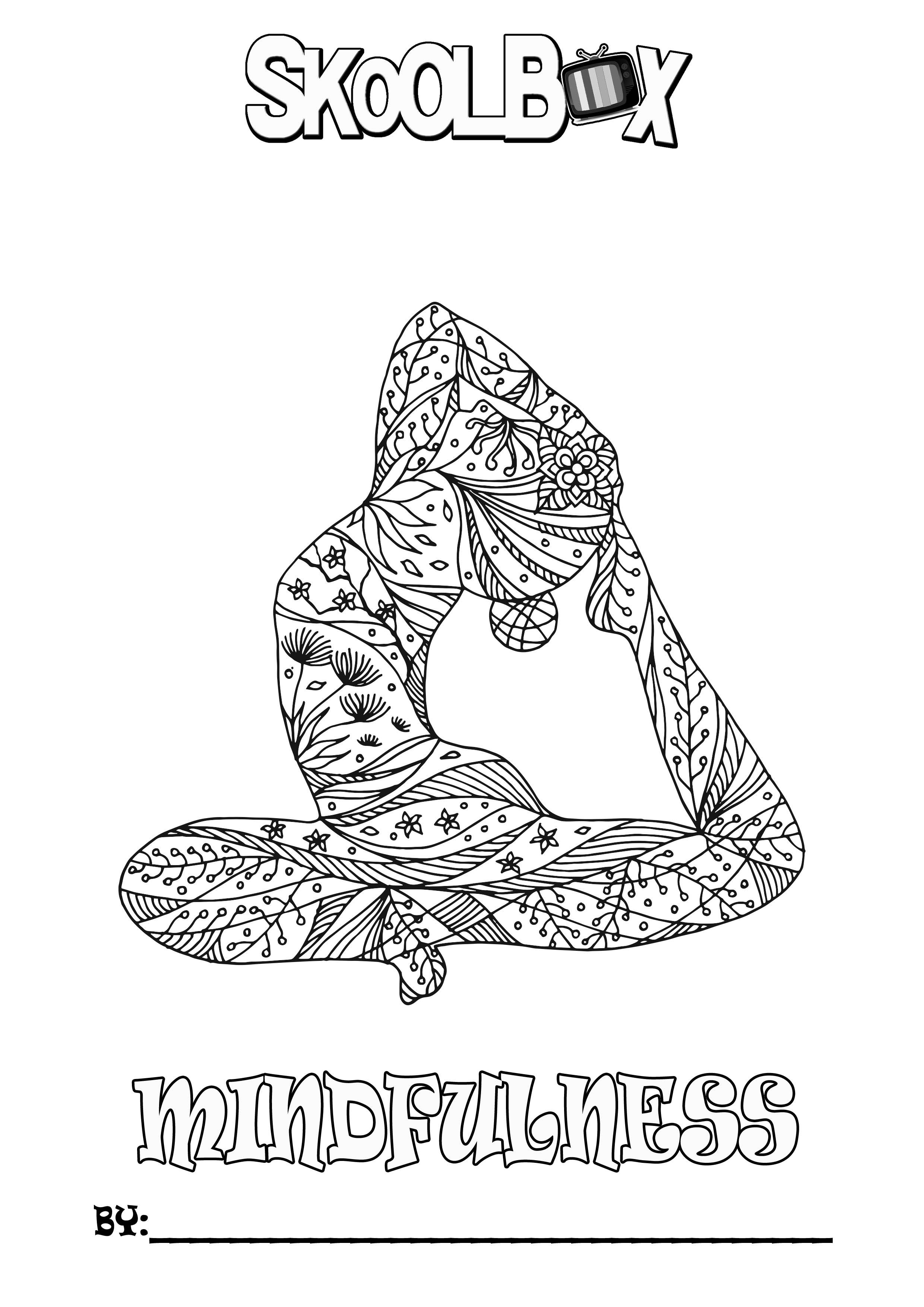SkoolBox Mindfulness Colouring 27