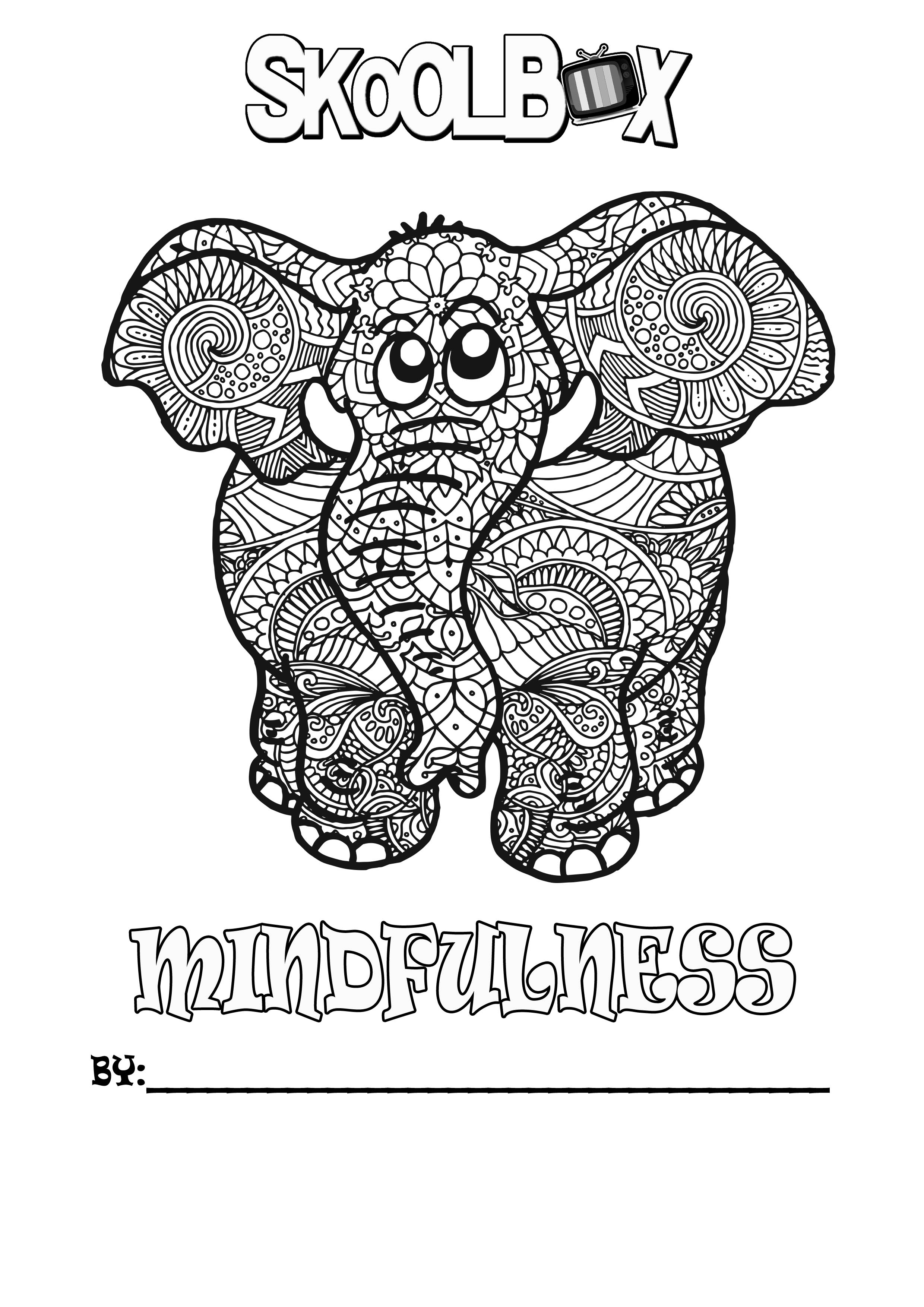 SkoolBox Mindfulness Colouring 12