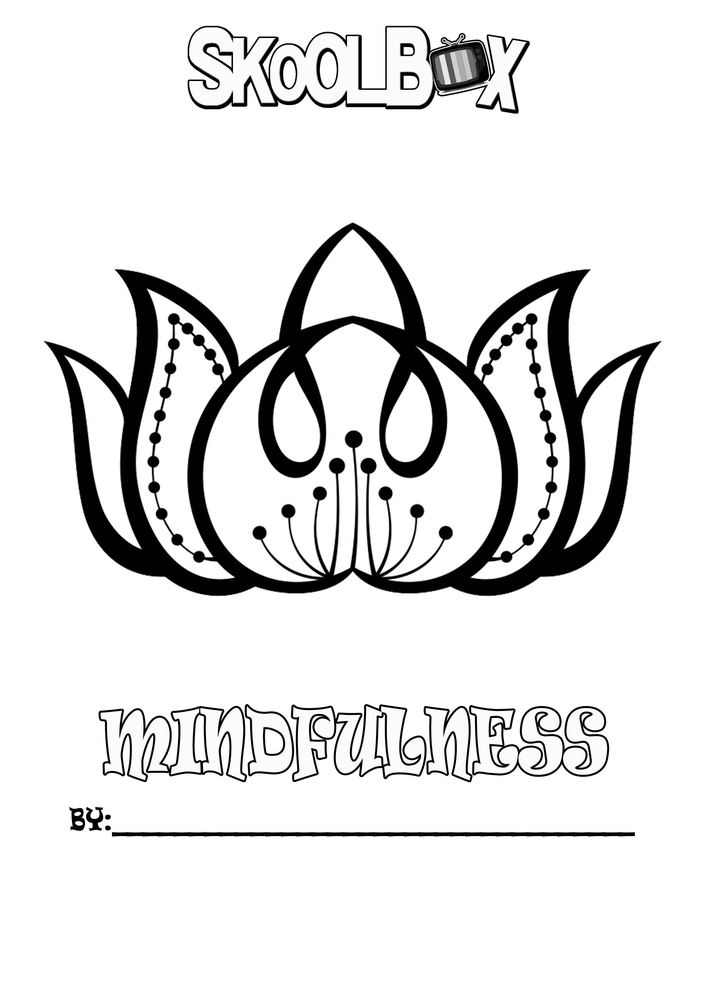 SkoolBox Mindfulness Colouring 6