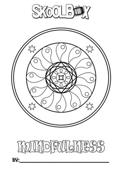 SkoolBox Mindfulness Colouring 22