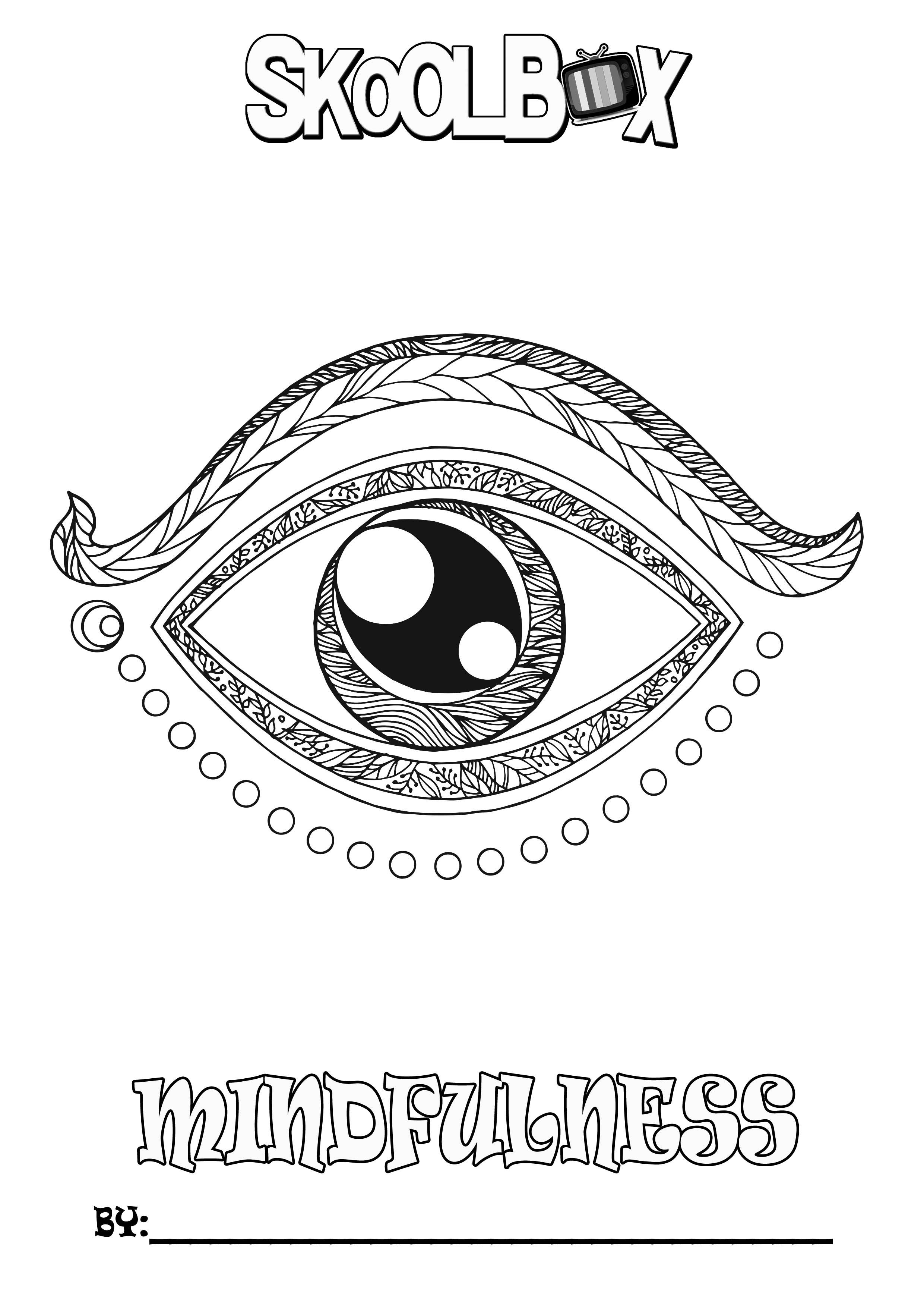 SkoolBox Mindfulness Colouring 26