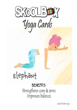 Yoga Card 30- elephant FINAL