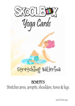 Yoga Card 15- Stretching ballerina FINAL