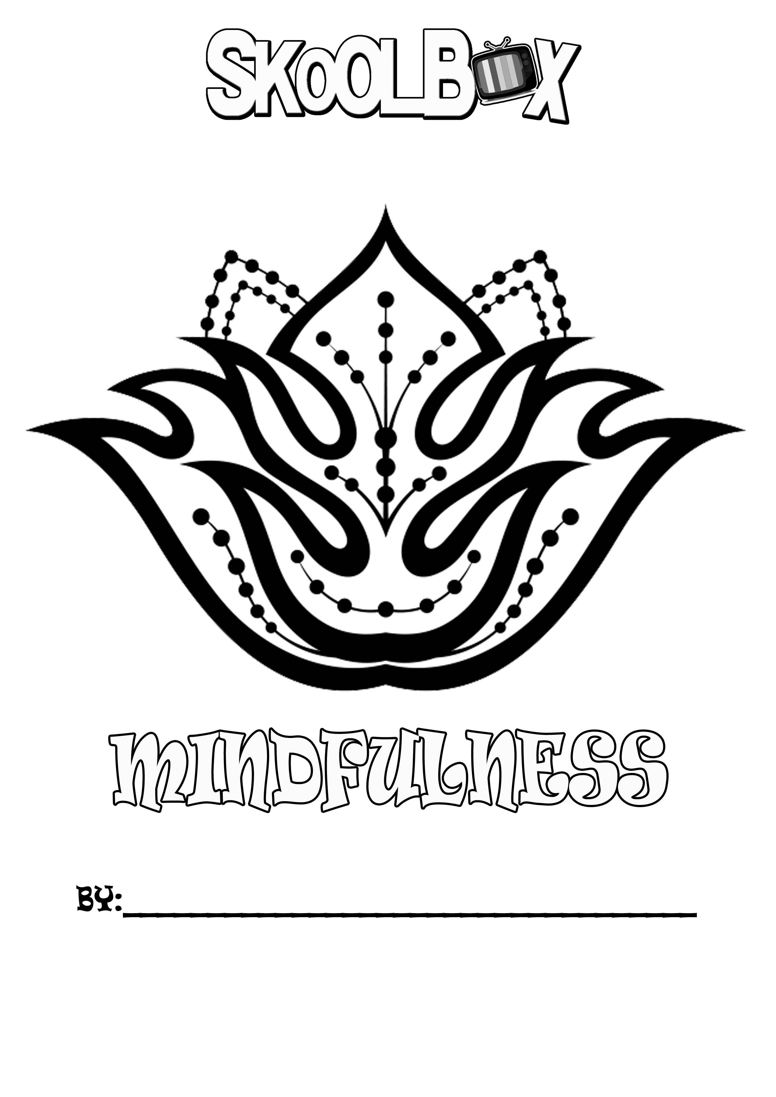 SkoolBox Mindfulness Colouring 2
