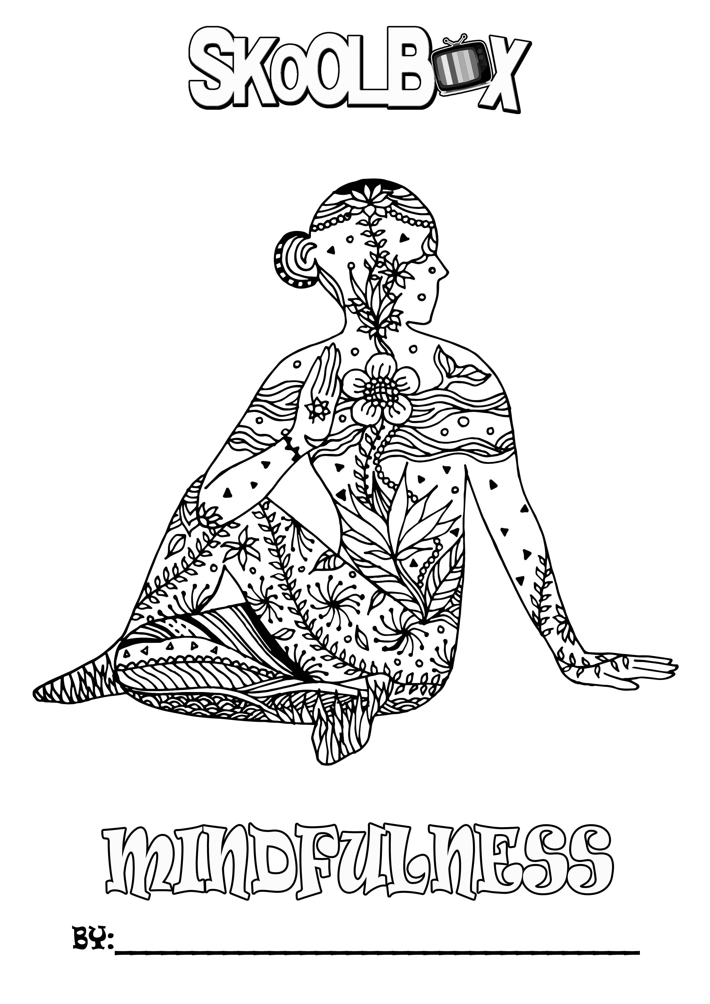 SkoolBox Mindfulness Colouring 15