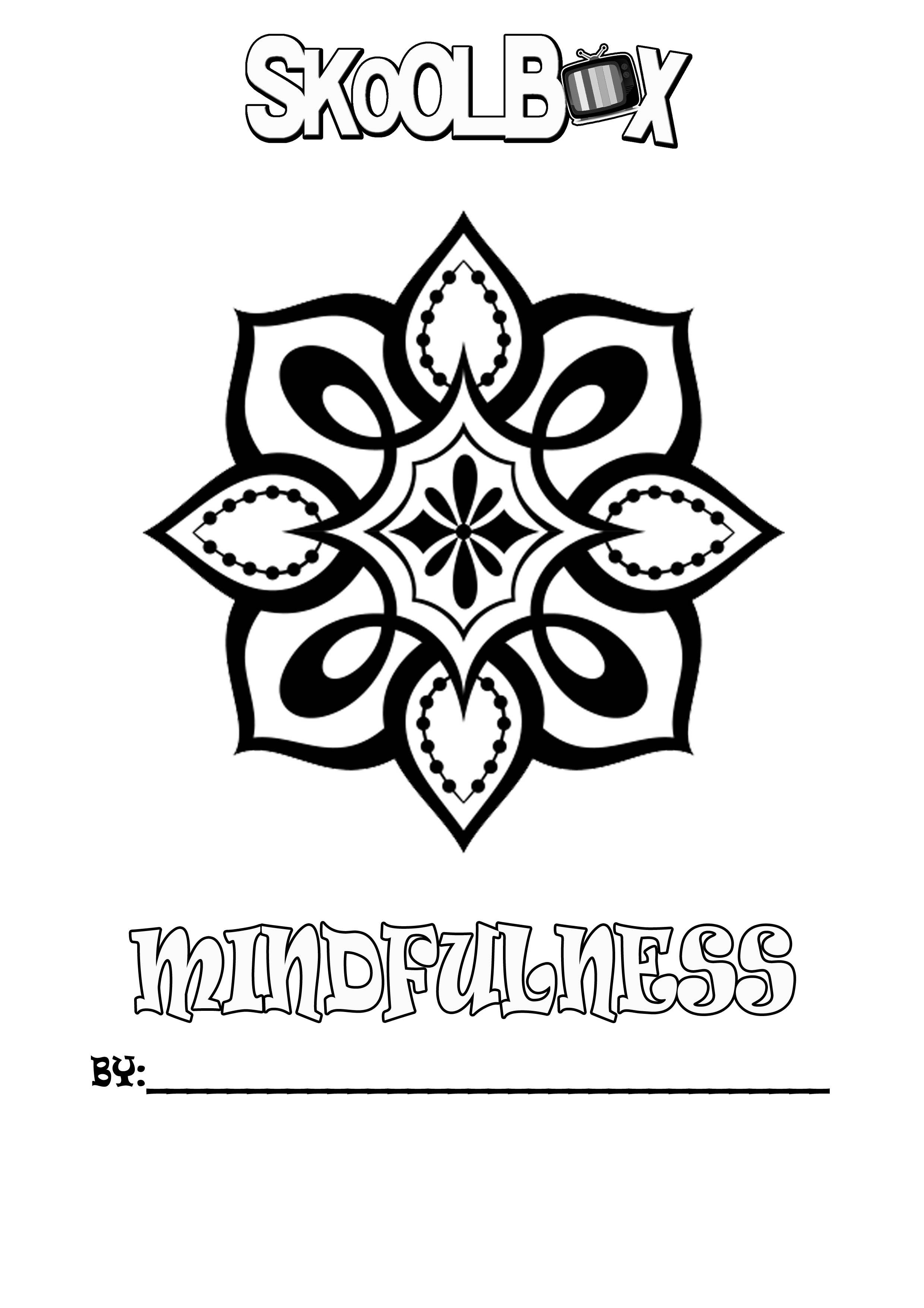 SkoolBox Mindfulness Colouring 5