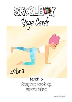 Yoga Card 31- zebra FINAL