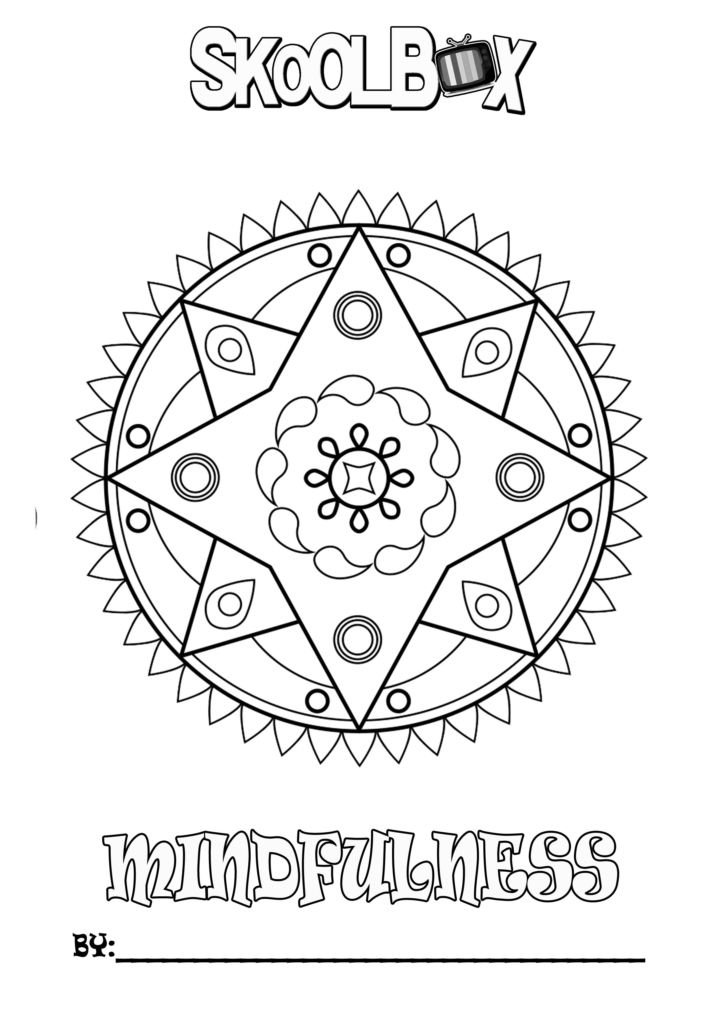 SkoolBox Mindfulness Colouring 18