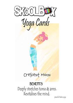 Yoga Card 19- crescent moon FINAL