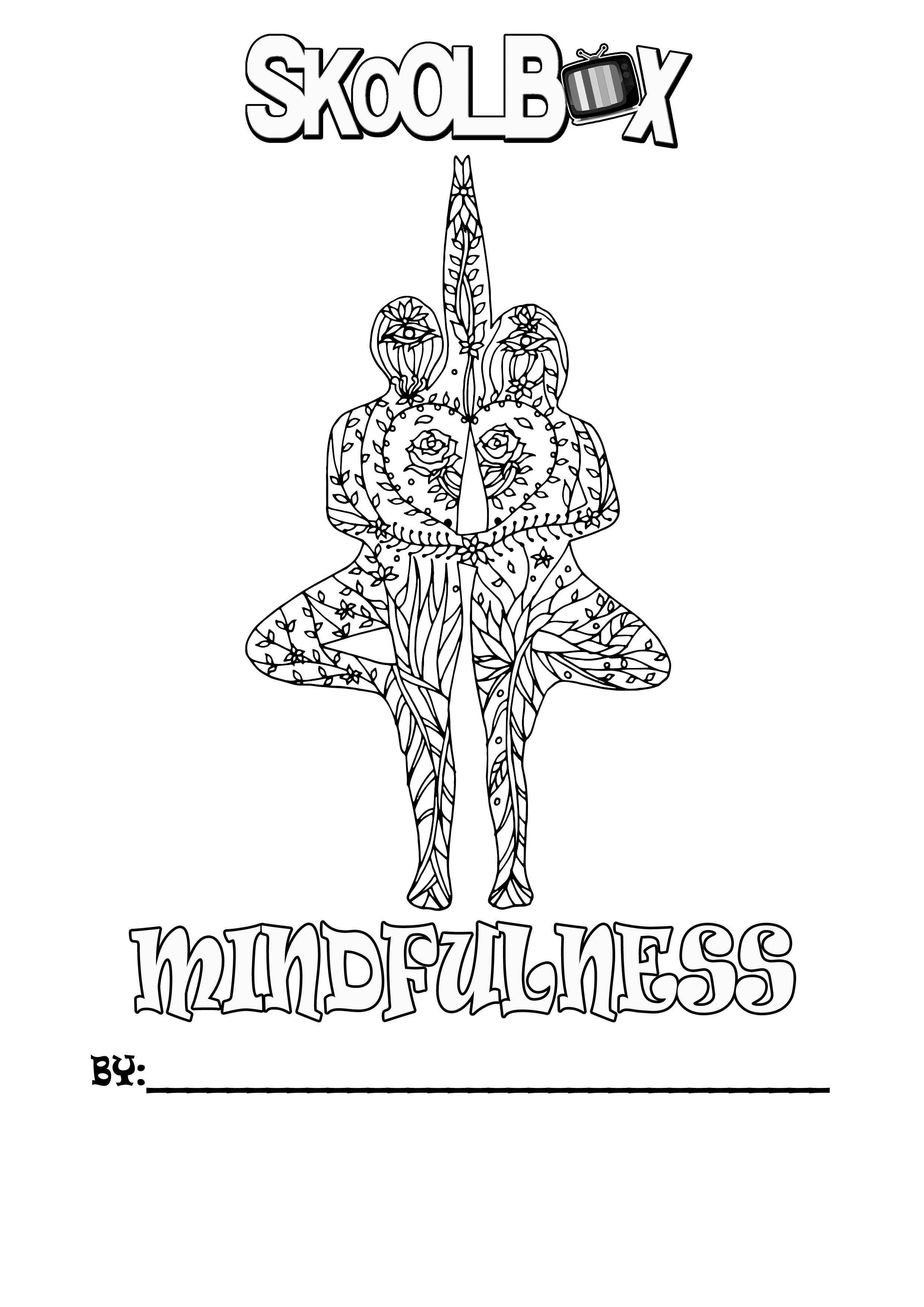 SkoolBox Mindfulness Colouring 8
