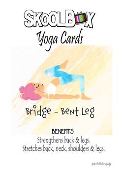 Yoga Card 45- Bridge bent leg FINAL