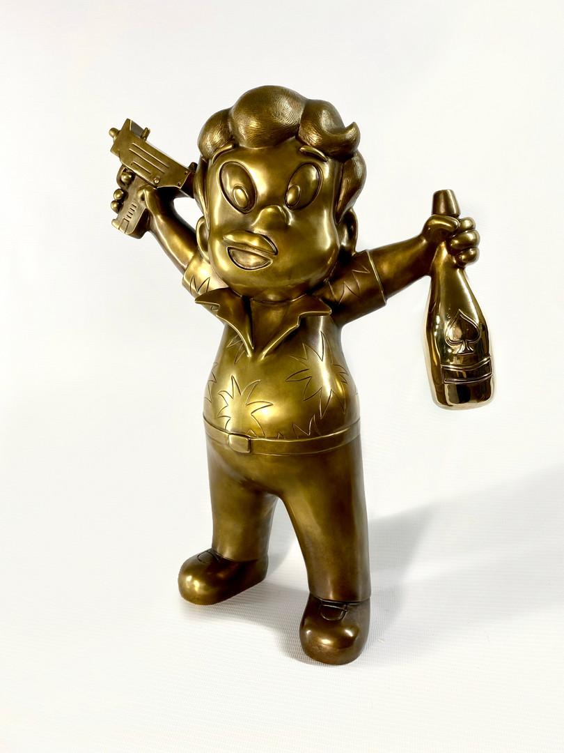 Pablito GUALLIER Bronze Sculpture 1 of 5