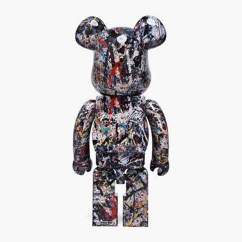 BE@RBRICK by Jackson Pollock Studio Bearbrick 1000% Limited