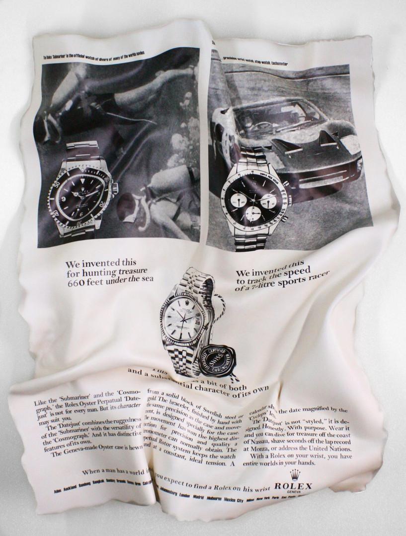 Rolex 1966 x Watchanish 120x100cm Editio