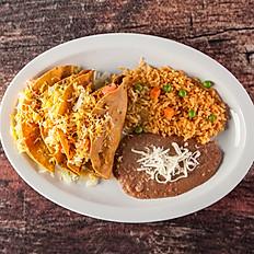 1. (3) Tacos Dorados