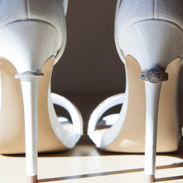 Bride Shoes with Rings