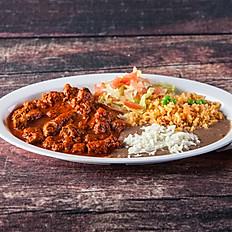5. Chile Rojo Con Carne