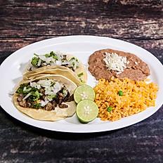 (2) Tacos Suaves